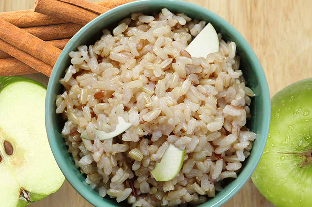 Arroz manzana integral