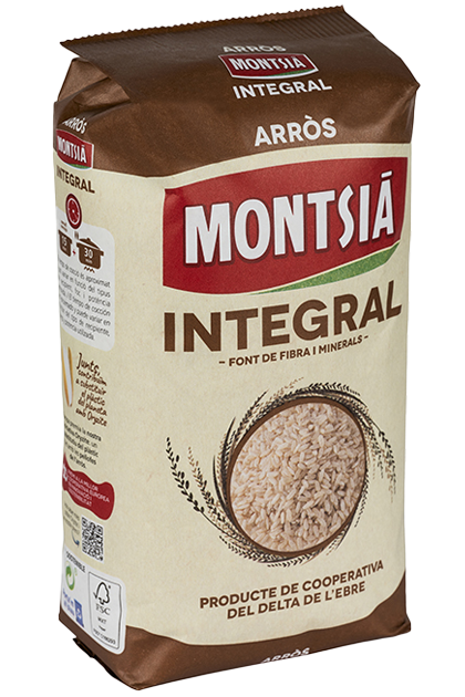 Arroz montsia integral
